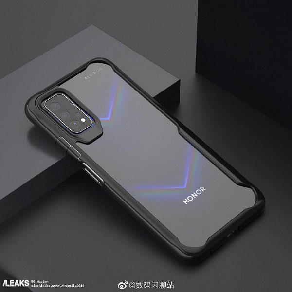 Honor V30 с квадрокамерой показали на новом изображении