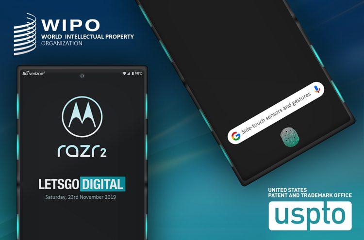 Новая Motorola RAZR может получить систему бокового управления Side-Touch