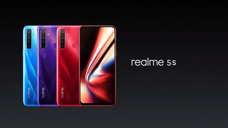 Realme представила смартфон Realme 5s за 139 долларов