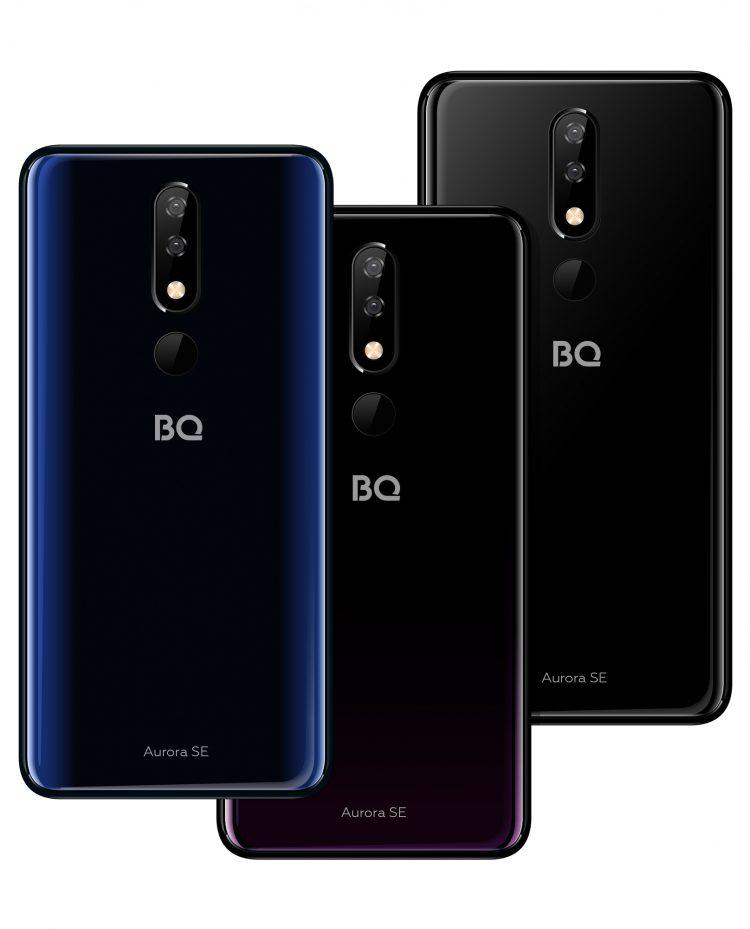 BQ представила новый недорогой смартфон BQ 5732L Aurora SE