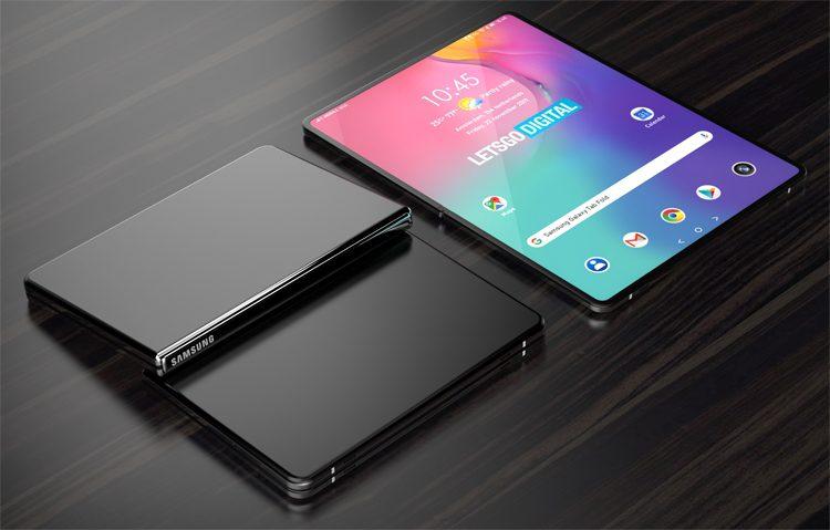 Samsung запатентовала планшет с гибким дисплеем