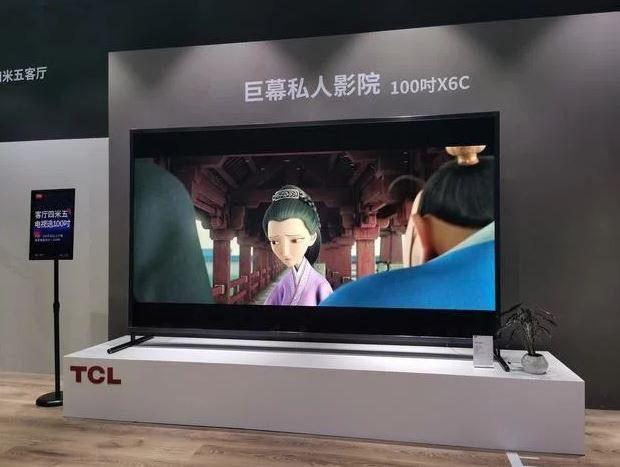 100-дюймовый смарт-телевизор TCL оценили в 11 385 долларов