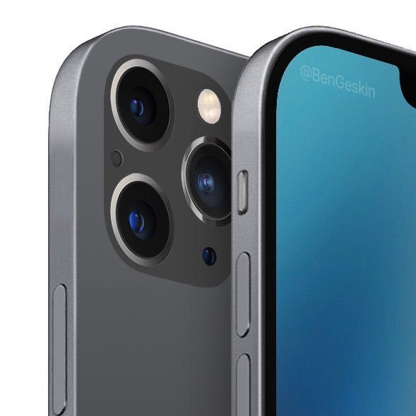iPhone 12 с четырьмя камерами показали на новых рендерах