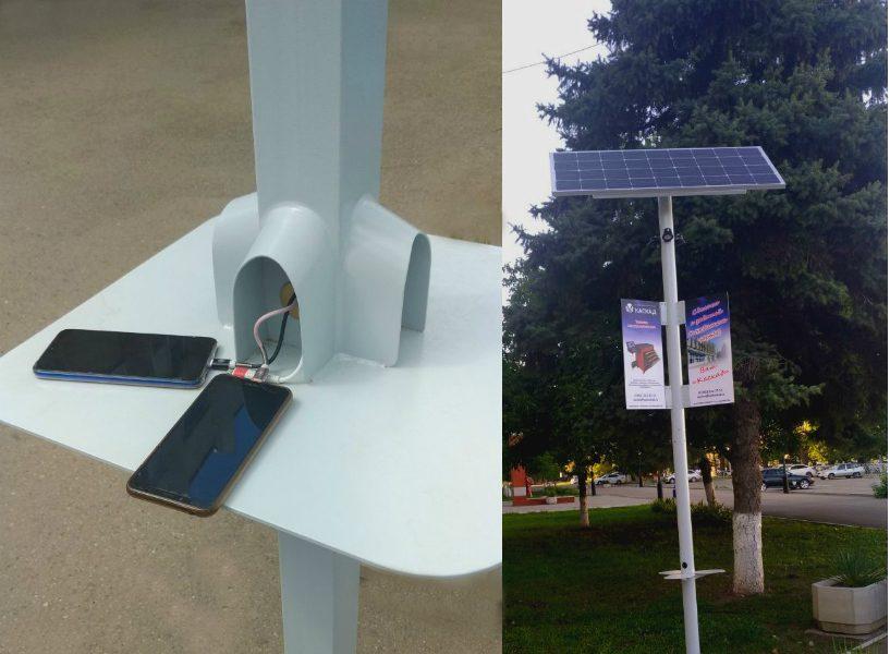На улицах России появятся «умные» фонари с Wi-Fi и зарядкой