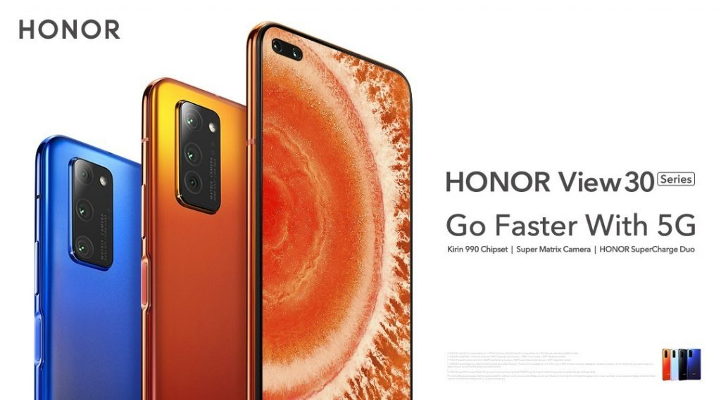 Honor представил новые смартфоны Honor V30 и V30 Pro