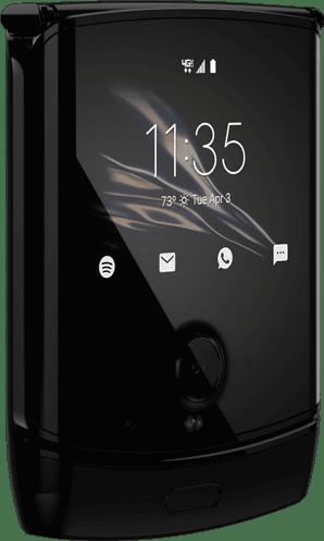 Опубликованы новые фотографии гибкого Motorola RAZR