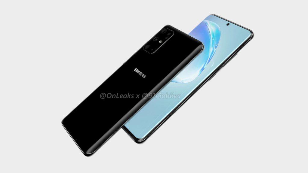Samsung Galaxy S11 появился на рендерах