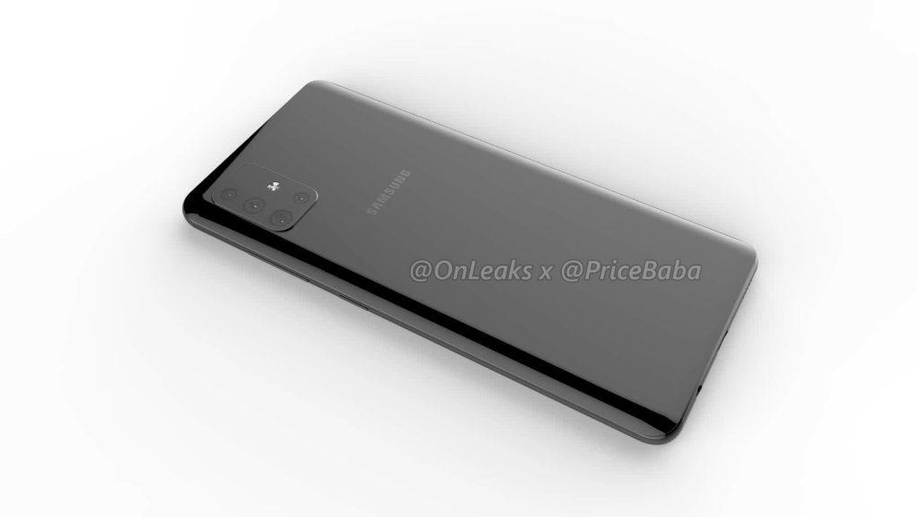 В Сети раскрыли дизайн и характеристики Samsung Galaxy A51