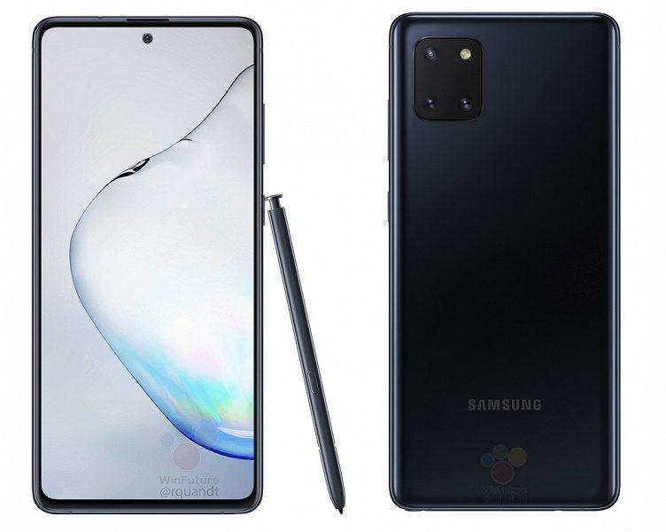 В сеть слили характеристики удешевлённого Galaxy Note 10