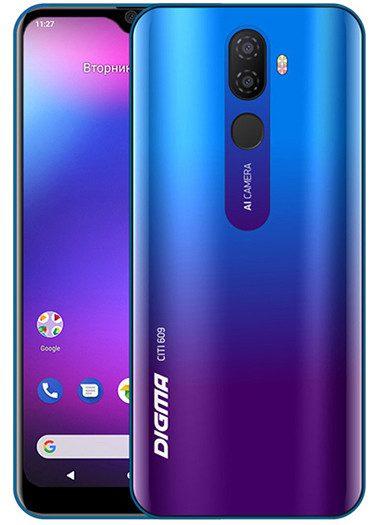В РФ начались продажи бюджетного смартфона Digma City 653