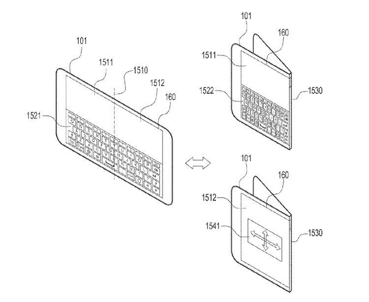 Samsung запатентовала смартфон, который сможет складываться в любую сторону