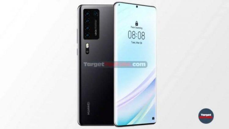 Смартфон Huawei P40 показали на независимых рендерах