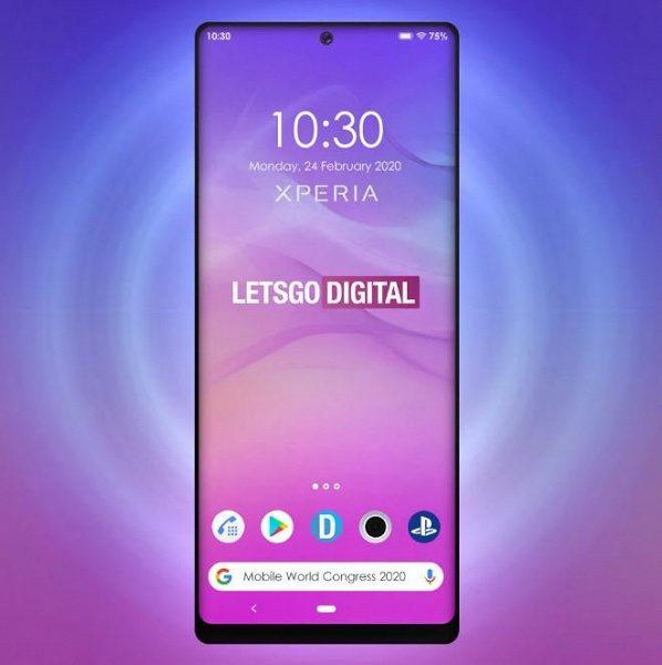 Sony показала свой новый флагманский смартфон