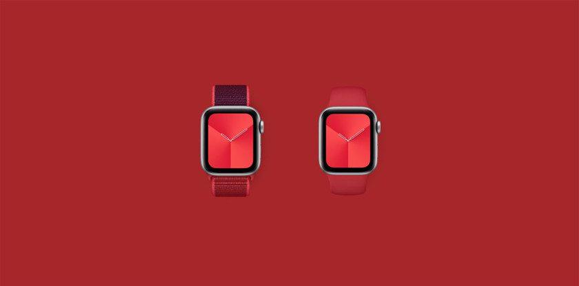 Apple представит в 2020 году смарт-часы Apple Watch PRODUCT (RED)