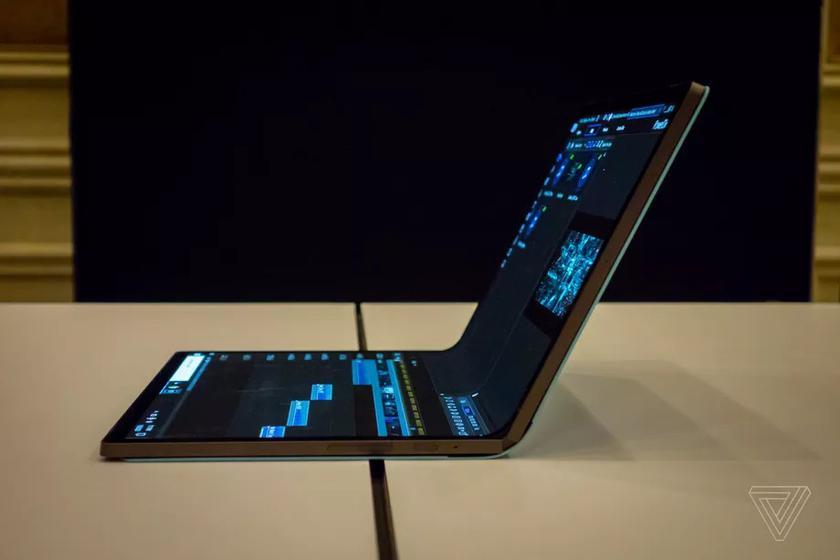 Intel на CES 2020 привезла планшет с большим гибким дисплеем