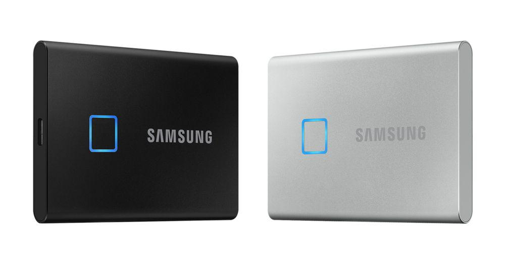 Samsung показала SSD накопитель со сканером отпечатков пальцев