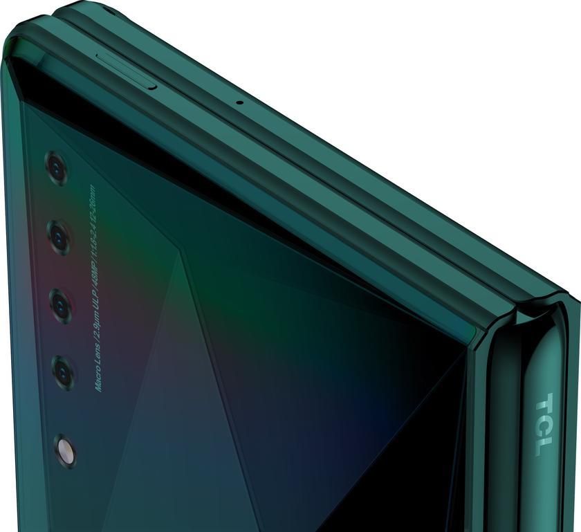 TCL на CES-2020 показала свой странный складной смартфон