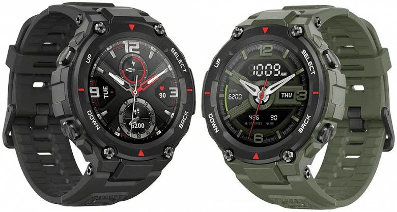 Amazfit представила защищенные умные часы Amazfit T-Rex