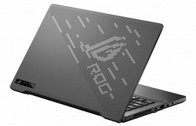 Asus показала компактный игровой ноутбук с AniMe Matrix LED панелью