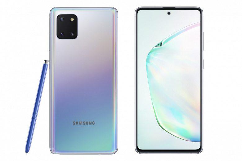 В России начались продажи Samsung Galaxy Note10 Lite