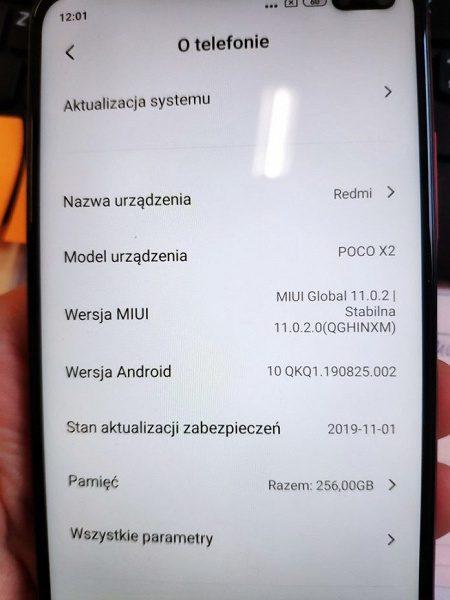 В Сети показали фото Xiaomi Poco X2 и подтвердили его характеристики