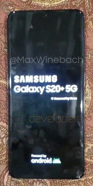 Новые фотографии Samsung Galaxy S20+ 5G обнародованы в Сети