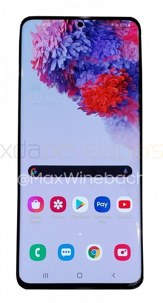 В Сеть утекли «живые» фотографии флагманского Samsung Galaxy S20+