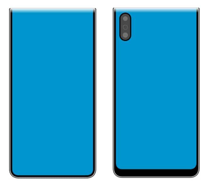Xiaomi запатентовала два складных смартфона с гибким экраном