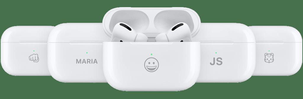 Apple при покупке AirPods Pro разрешила наносить emoji