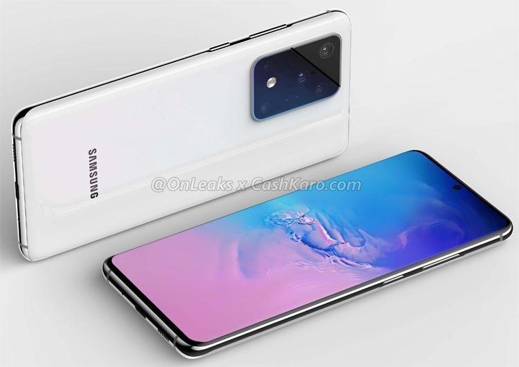 Samsung Galaxy S20 Ultra 5G получит 100-кратный зум, 16 ГБ ОЗУ и eSIM