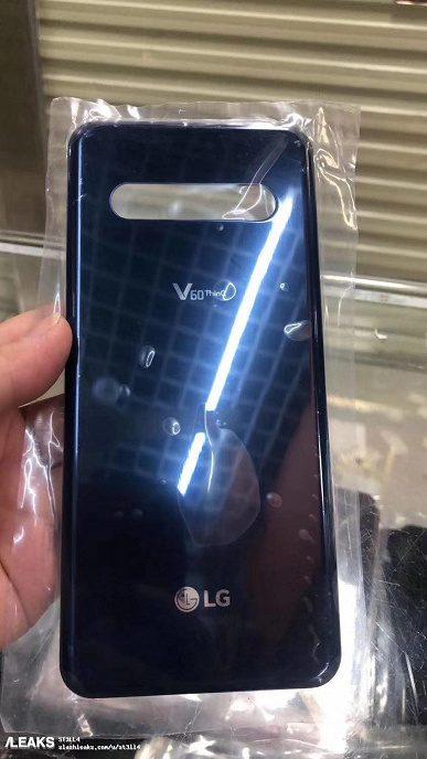 В сети появились живые фотографии смартфона LG V60 ThinQ