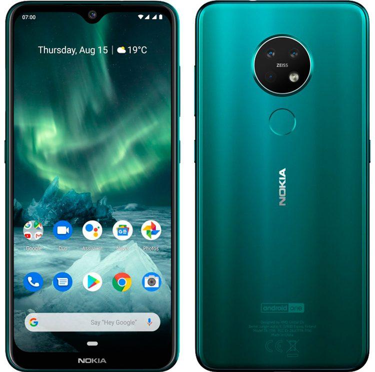 Улучшенный смартфон Nokia 7.2 появился в России