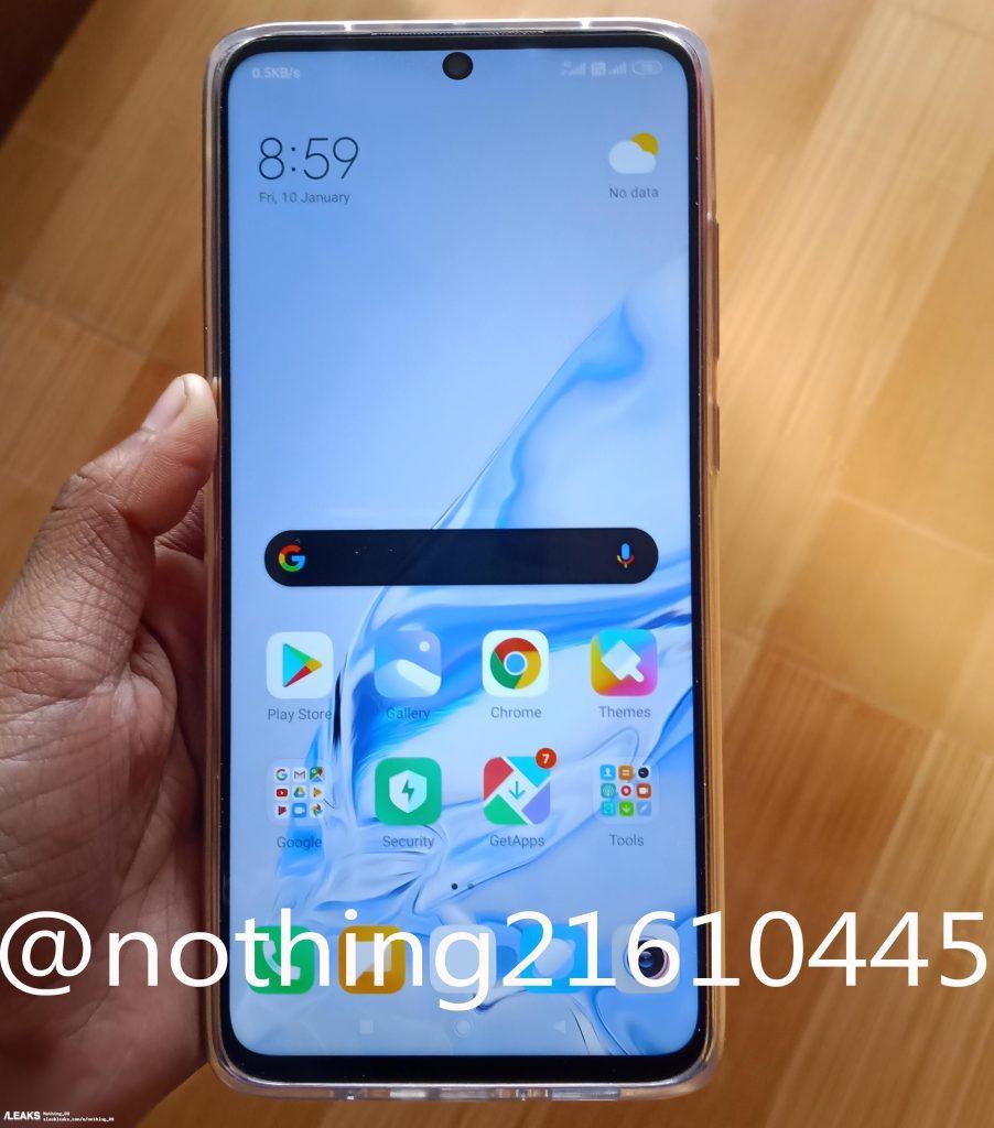 Опубликовано качественное фото смартфона Redmi Note 9