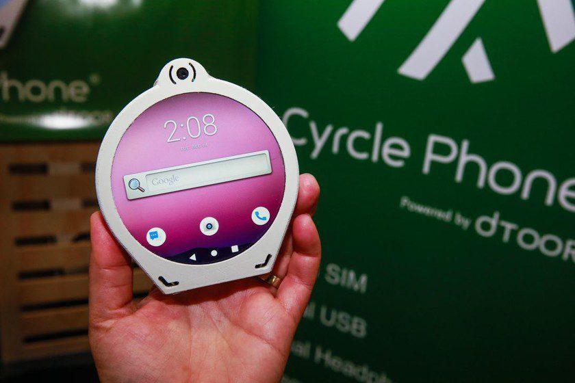 На выставке CES 2020 представили прототип круглого смартфона