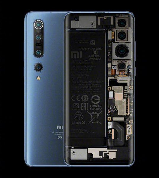 Директор Xiaomi заинтриговал «прозрачным» Xiaomi Mi 10 Transparent Edition