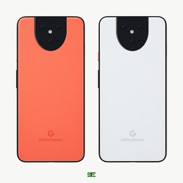 Флагманский Google Pixel 5 XL показали на новых рендерах