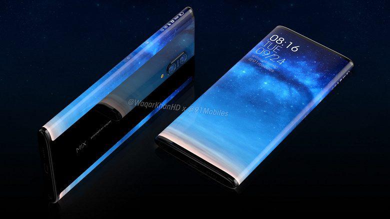 Xiaomi Mi Mix 4 появился на качественных независимых рендерах