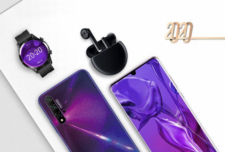 Huawei 1 и 2 февраля популярные смартфоны продает со скидками