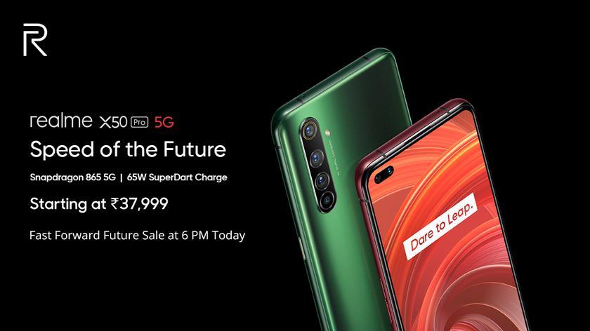Компания Realme официально представила флагман Realme X50 Pro 5G