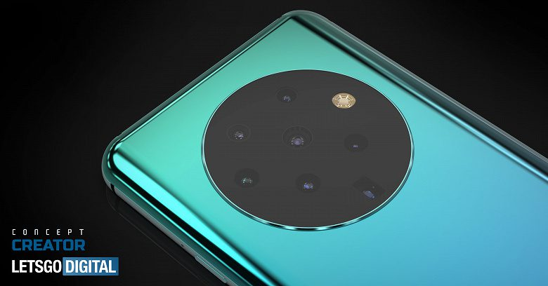 OPPO проектирует смартфон с 7-модульной основной камерой
