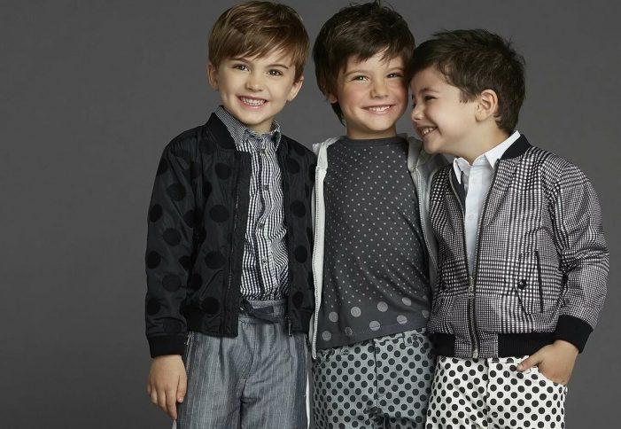 Модная одежда для мальчиков
