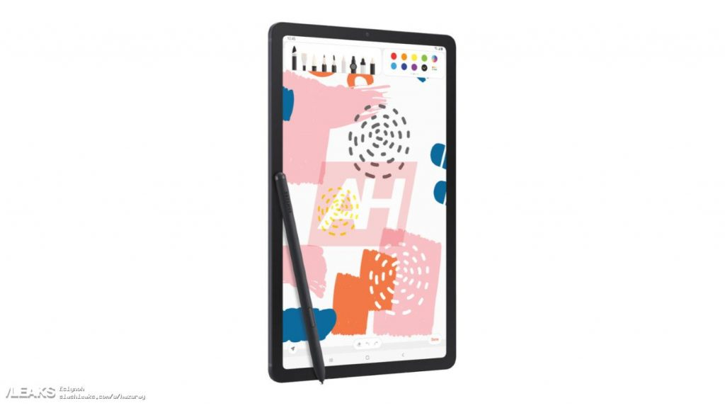 Опубликовано изображение планшета Samsung Galaxy Tab S6 Lite