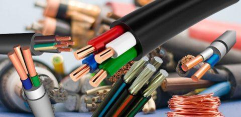 Электрический кабель и провод