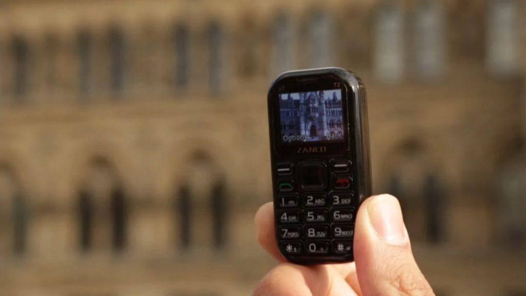 Представлен самый маленький «камерофон» в мире