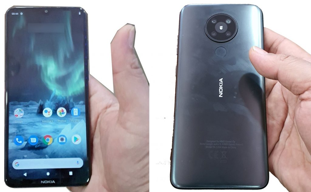В сети появились «живые» фотографии смартфона Nokia 5.2