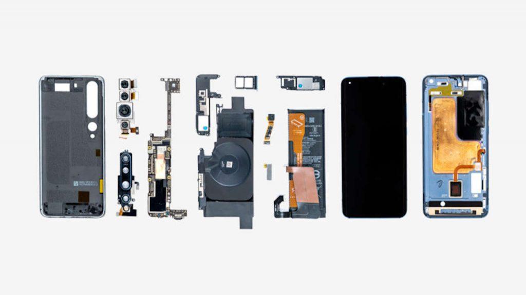 Xiaomi показала внутренности флагмана Mi 10 Pro