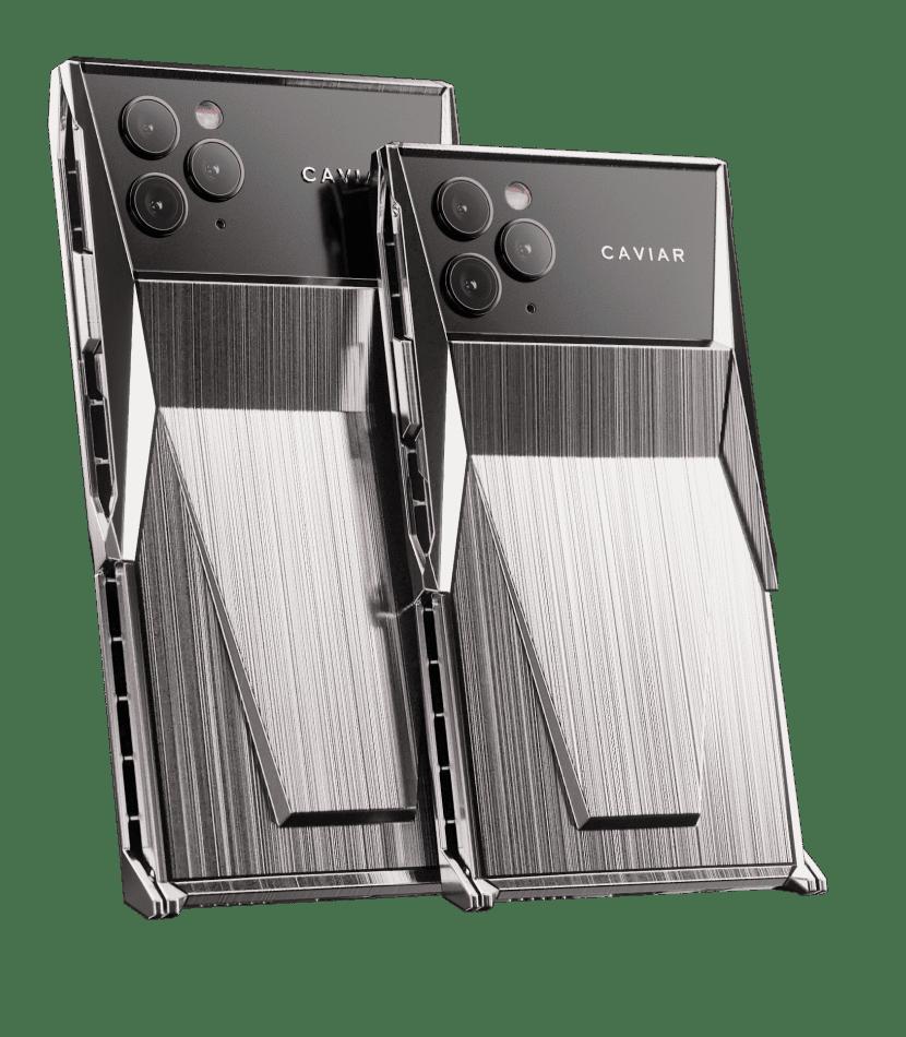 Названа стоимость смартфона в стиле Tesla Cybertruck от Caviar