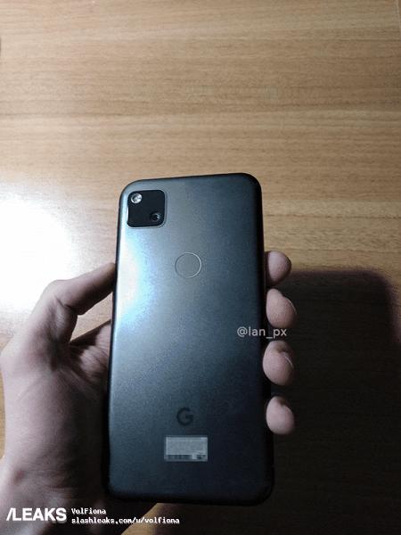 Опубликовали первые фотографии бюджетного Google Pixel 4a