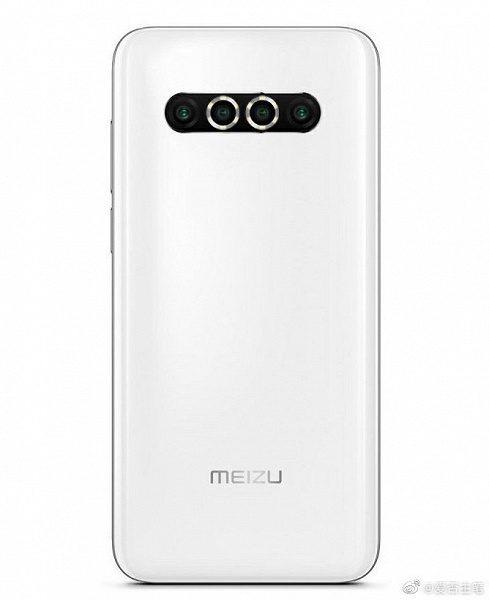 Meizu 17 с горизонтальной квадрокамерой представлен на фото
