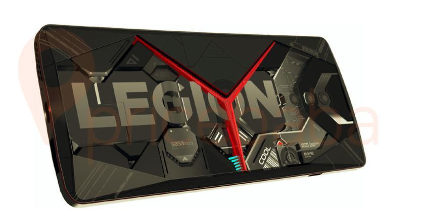 В Сети показали изображения игрового смартфона Legion от Lenovo